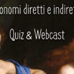 Pronomi diretti e indiretti – Quiz & Webcast