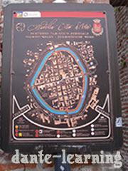 Cittadella-旧市街マップ