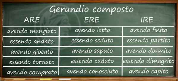 gerundio ジェルンディオ イタリ...