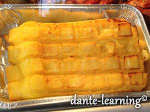 polenta grigliata 香ばしいポレンタグリル